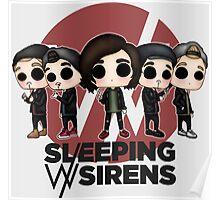 SWS chibi band Poster