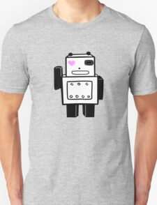 panda robot love T-Shirt
