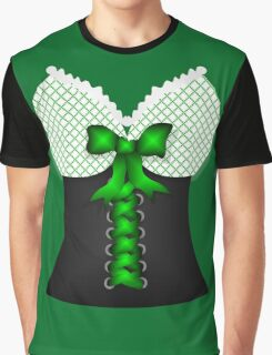 St patricks day vintage Irish traditional leprechaun corset  Graphic T-Shirt
