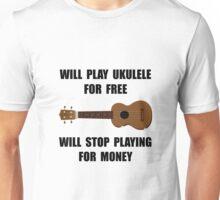 Ukulele Playing Unisex T-Shirt