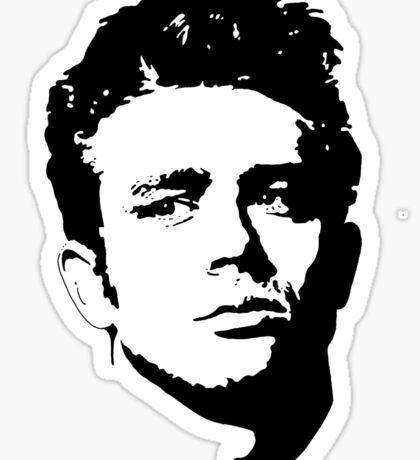 The James Dean Collection Sticker