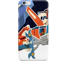 Voltron Bust Sceen iPhone Case/Skin