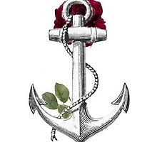 Rose & Anchor by coldpineapple