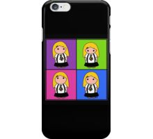 Tie Girl Arya Squared iPhone Case/Skin