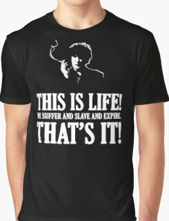 Bernard Black - Black Books T Shirt Graphic T-Shirt