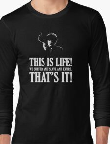 Bernard Black - Black Books T Shirt Long Sleeve T-Shirt
