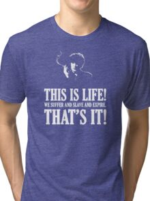 Bernard Black - Black Books T Shirt Tri-blend T-Shirt