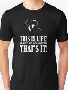 Bernard Black - Black Books T Shirt Unisex T-Shirt