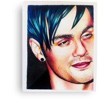 Michael blue hair Canvas Print
