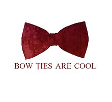 Doctor Who - Bow Ties are Cool by TheQueenofOz