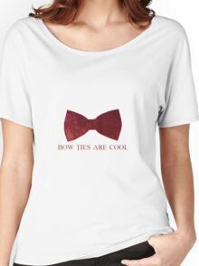 Doctor Who - Bow Ties are Cool Women's Relaxed Fit T-Shirt