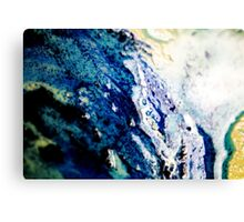Planet Earth Canvas Print