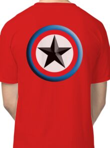 Bulls Eye, Right on Target, Roundel, Archery, Star, Badge, Buttton Classic T-Shirt