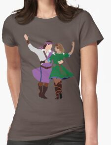 Highland Dancers Womens Fitted T-Shirt