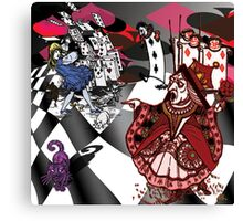 Alice in Wonderland - Off with Her Head Canvas Print