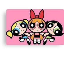 The Powerpuff Girls - Girls  Canvas Print