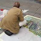 THE STREET-PAINTER by Heidi Mooney-Hill