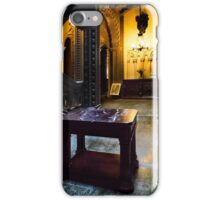 Penrhyn castle -Marble table  iPhone Case/Skin