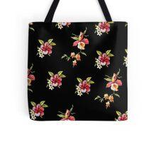 Hipster Tropical flower floral print Tote Bag
