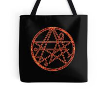 Necronomicon burning Tote Bag