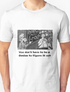 Genius Cow Unisex T-Shirt