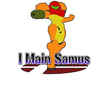 I Main Samus - Super Smash Bros Melee Photographic Print