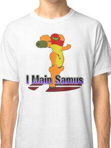 I Main Samus - Super Smash Bros Melee Classic T-Shirt