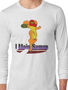 I Main Samus - Super Smash Bros Melee Long Sleeve T-Shirt