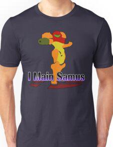 I Main Samus - Super Smash Bros Melee Unisex T-Shirt