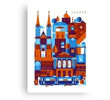 Zagreb Canvas Print
