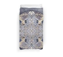 Flower of Enlightenment Duvet Cover