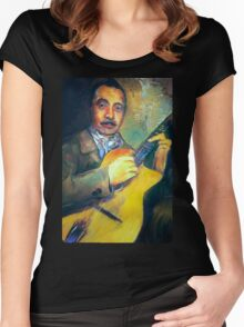 DJANGO REINHARDT Women's Fitted Scoop T-Shirt