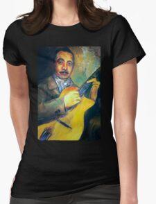 DJANGO REINHARDT Womens Fitted T-Shirt