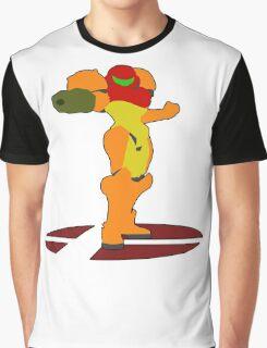 Samus - Super Smash Bros Melee Graphic T-Shirt