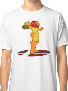 Samus - Super Smash Bros Melee Classic T-Shirt