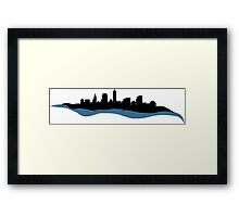Cleveland Ohio Skyline Framed Print