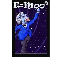 E=moo2 Photographic Print