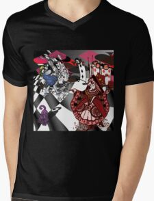 Alice in Wonderland - Off with Her Head Mens V-Neck T-Shirt