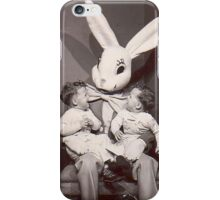 Creepy Easter Bunny iPhone Case/Skin