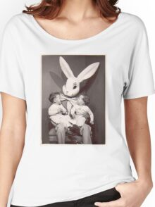 Creepy Easter Bunny Women's Relaxed Fit T-Shirt