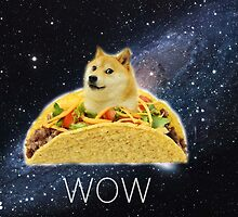 Taco Doge In Space by Doge21
