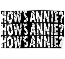 HOW'S ANNIE? Poster