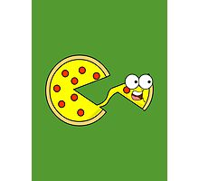 PIZZA FACE! Photographic Print