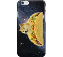 Taco Doge In Space iPhone Case/Skin