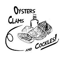 Game of Thrones - Oysters, clams, and cockles Photographic Print