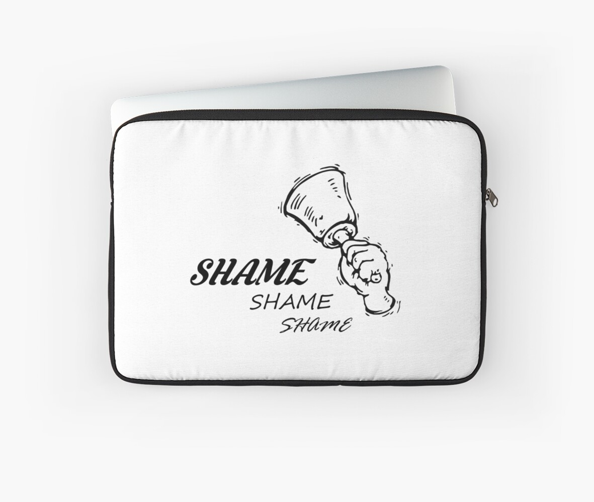 Game Of Thrones Walk Of Shame Laptop Sleeves By