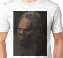 Sasquatch in the night Unisex T-Shirt
