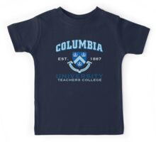 Columbia Teachers College Kids Tee