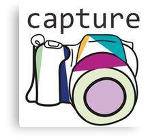 Capture Canvas Print