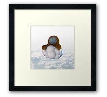 cloud sloth Framed Print